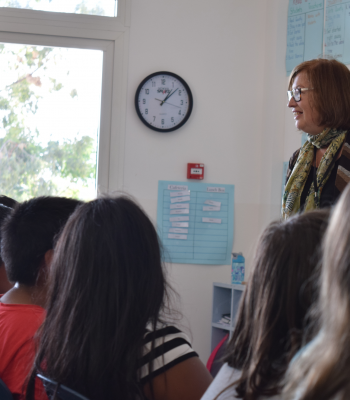 Dr Patricia Wright visits Grade 5